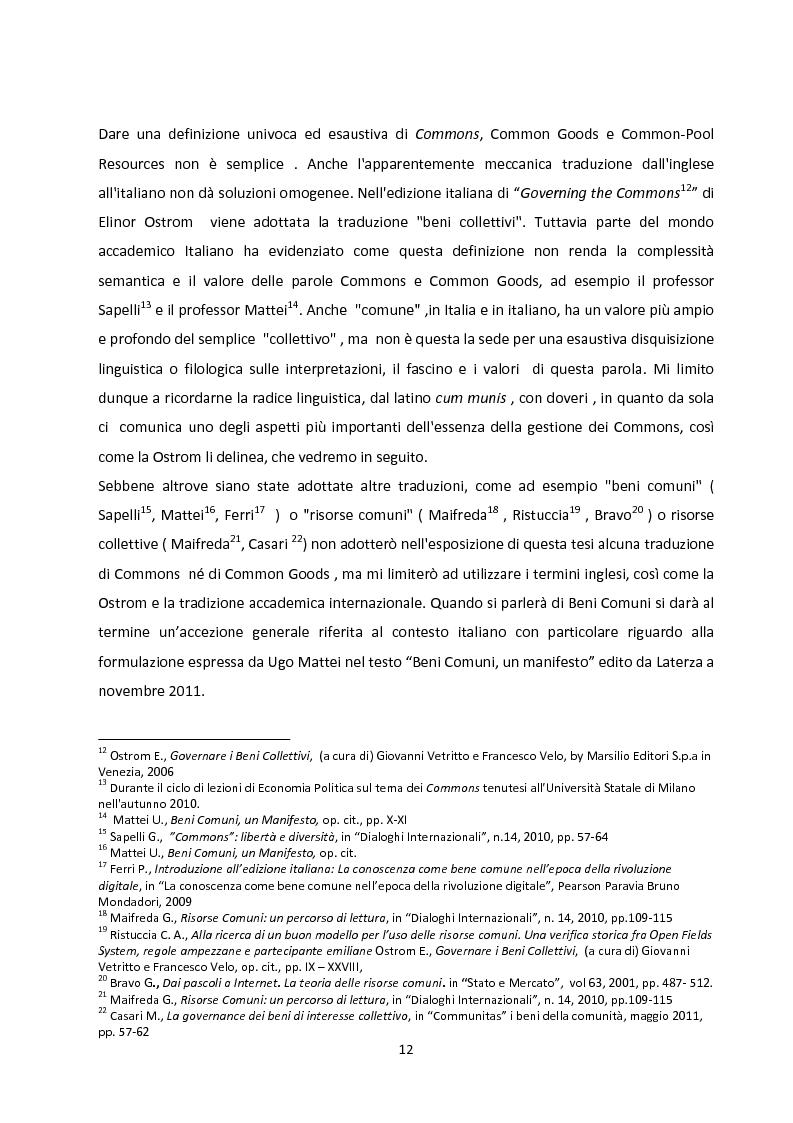 Anteprima della tesi: Oltre la Tragedia dei Beni Comuni: La gestione delle Common-Pool Resources e il Bosco delle Sorti della Partecipanza di Trino, Pagina 9