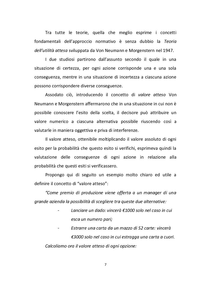 Anteprima della tesi: Finanza comportamentale: emozione, distorsioni cognitive e investimenti etici, Pagina 5