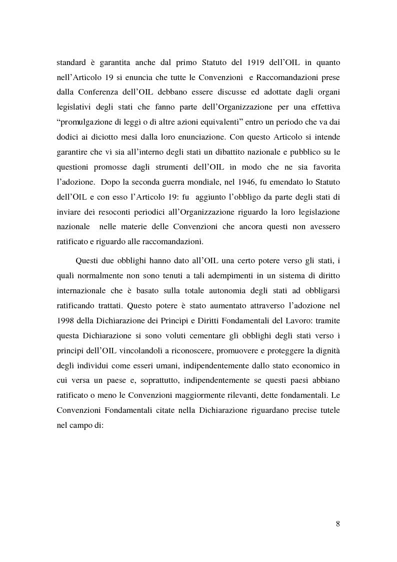 Anteprima della tesi: Il Diritto del Lavoro della Repubblica Popolare Cinese alla luce del diritto internazionale, Pagina 6