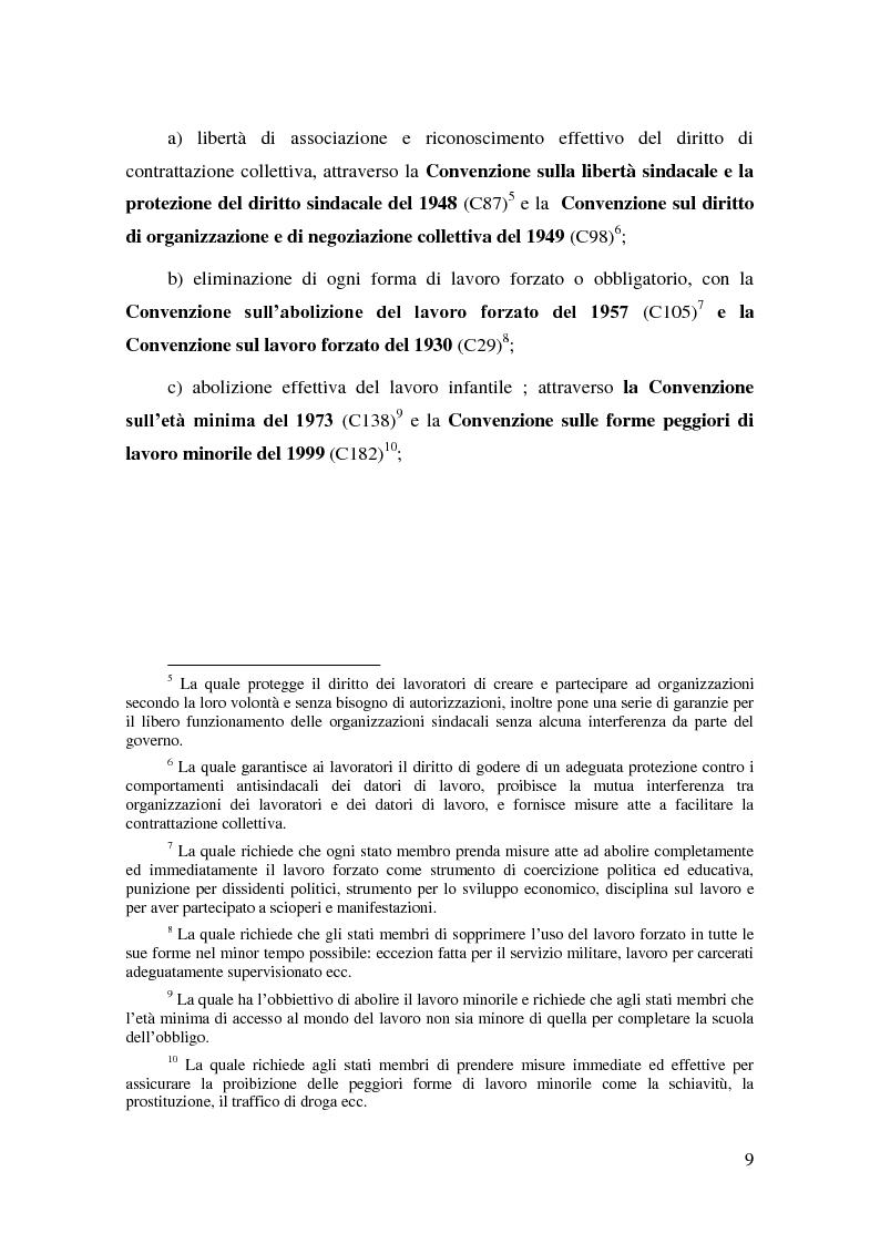 Anteprima della tesi: Il Diritto del Lavoro della Repubblica Popolare Cinese alla luce del diritto internazionale, Pagina 7