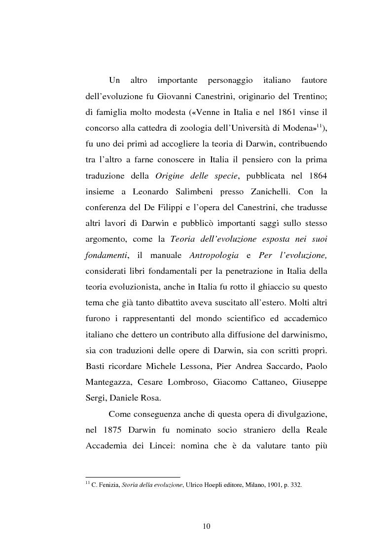Anteprima della tesi: Ogni plebe m'insulta e rossa e nera - Fogazzaro, la sua arte, la scienza, la Chiesa, Pagina 11