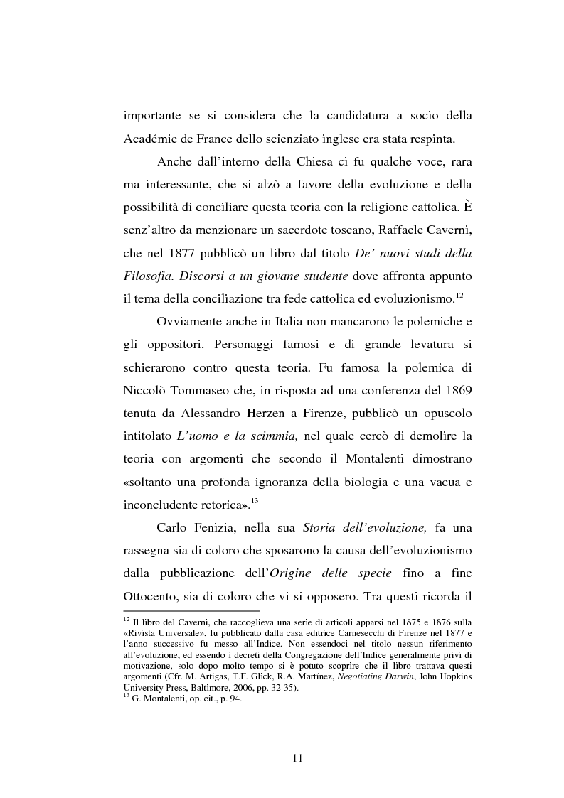 Anteprima della tesi: Ogni plebe m'insulta e rossa e nera - Fogazzaro, la sua arte, la scienza, la Chiesa, Pagina 12