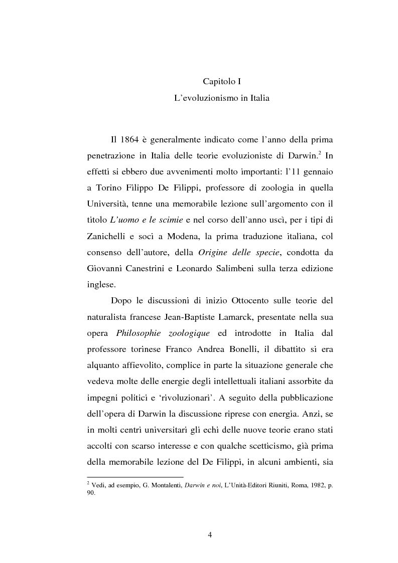 Anteprima della tesi: Ogni plebe m'insulta e rossa e nera - Fogazzaro, la sua arte, la scienza, la Chiesa, Pagina 5