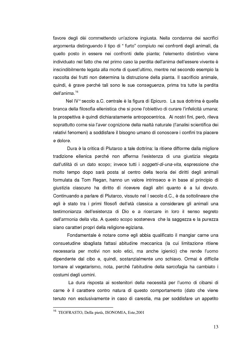 Anteprima della tesi: Il diritto animale. Principi e contraddizioni del sistema., Pagina 10