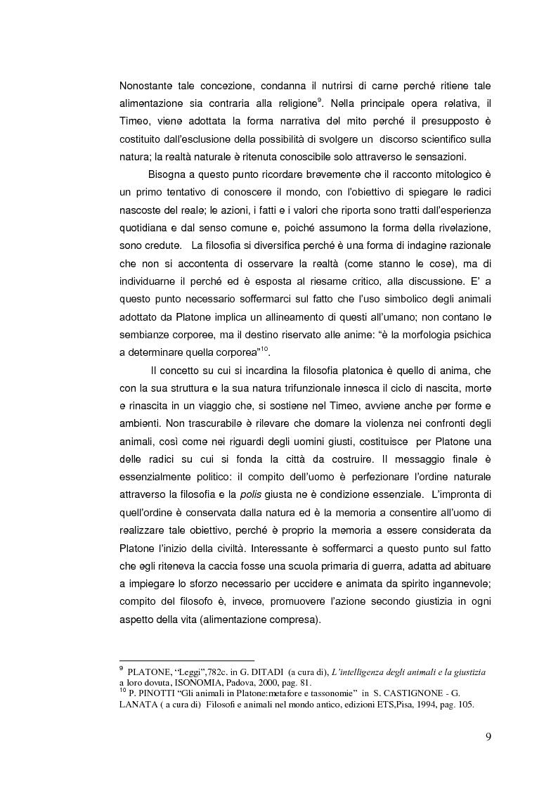 Anteprima della tesi: Il diritto animale. Principi e contraddizioni del sistema., Pagina 6