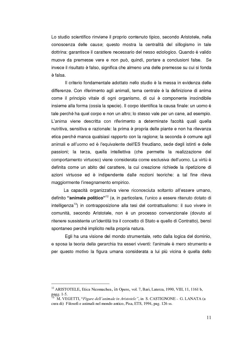 Anteprima della tesi: Il diritto animale. Principi e contraddizioni del sistema., Pagina 8