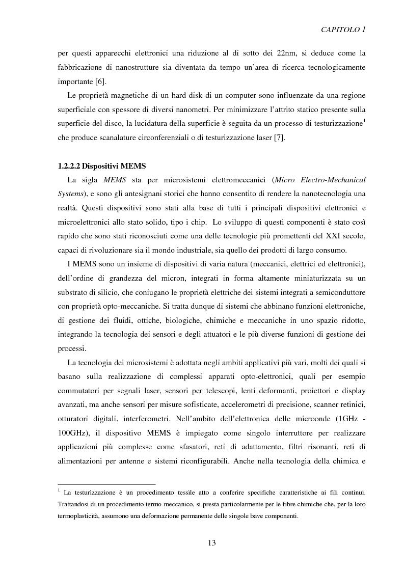 Estratto dalla tesi: Metodologie di caratterizzazione e qualificazione dimensionale e superficiale di microcomponenti.