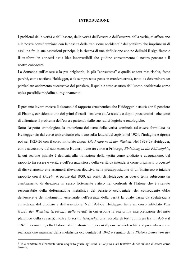Anteprima della tesi: Il non-detto di Heidegger , Pagina 2