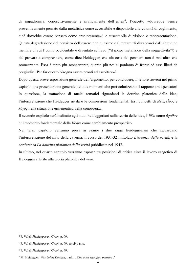Anteprima della tesi: Il non-detto di Heidegger , Pagina 5