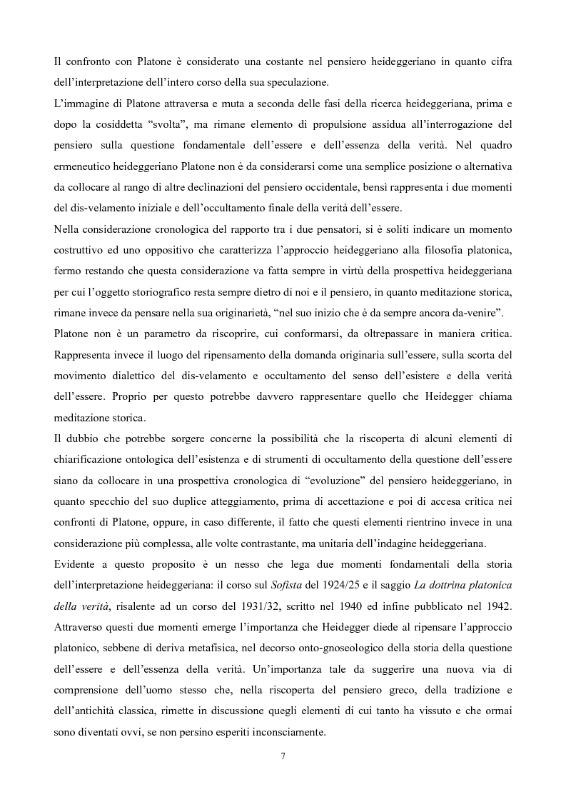 Anteprima della tesi: Il non-detto di Heidegger , Pagina 8
