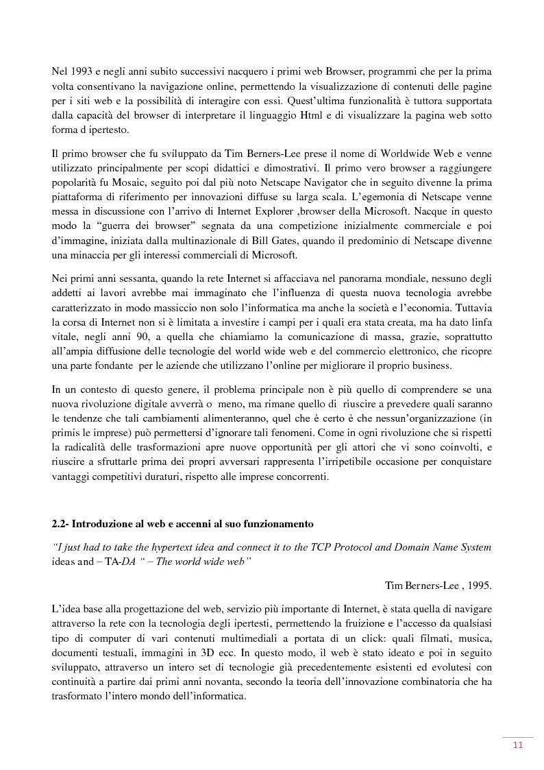 Anteprima della tesi: L'evoluzione del web 2.0: applicazioni ed usi per il marketing on-line, Pagina 7