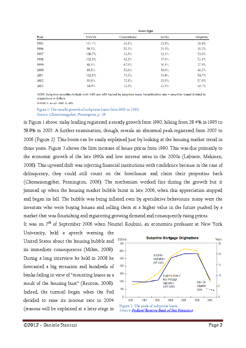 Anteprima della tesi: Policies and Interest Rates During the Crisis: A Dynamic Approach, Pagina 6