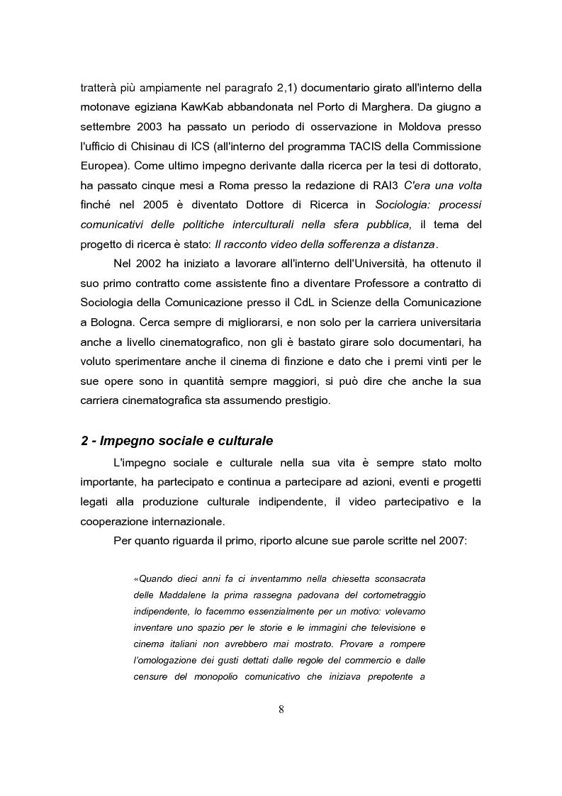 Anteprima della tesi: Andrea Segre, dal documentario al cinema di finzione: analogie e differenze, Pagina 7