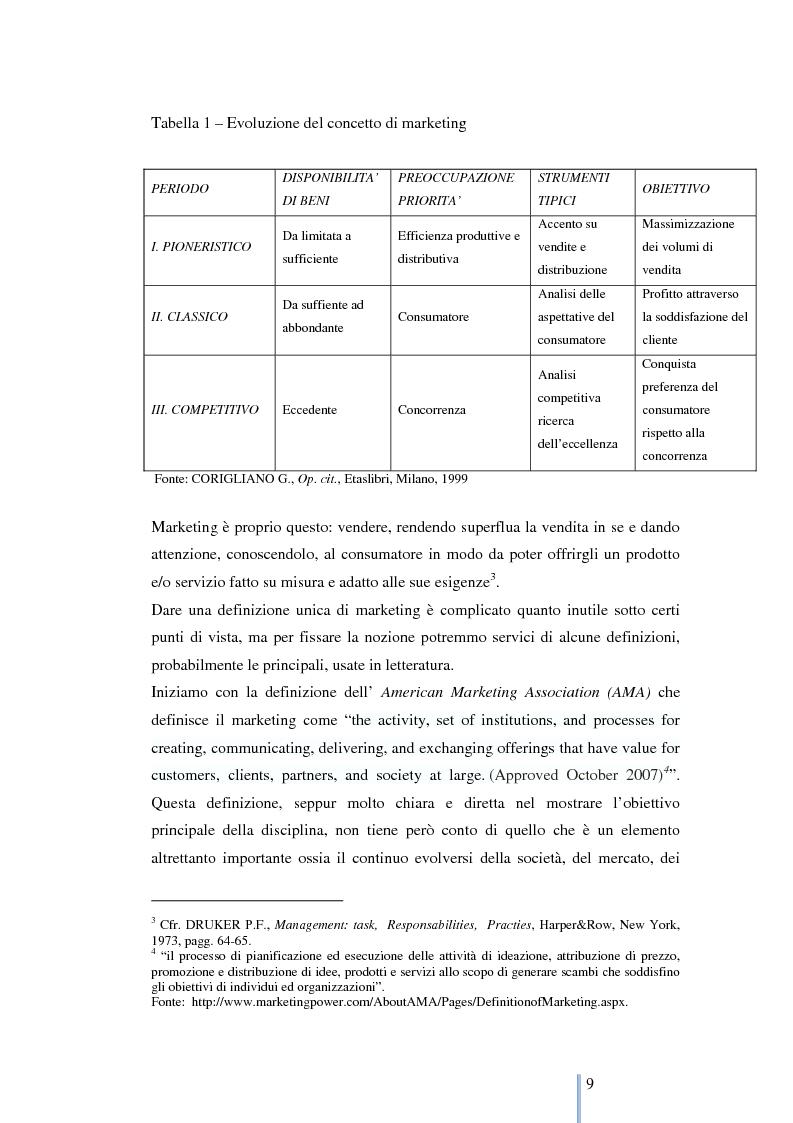 Anteprima della tesi: Le nuove frontiere del marketing: geomarketing e geolocalizzazione al servizio delle aziende. Il caso UniCredit S.p.a., Pagina 10