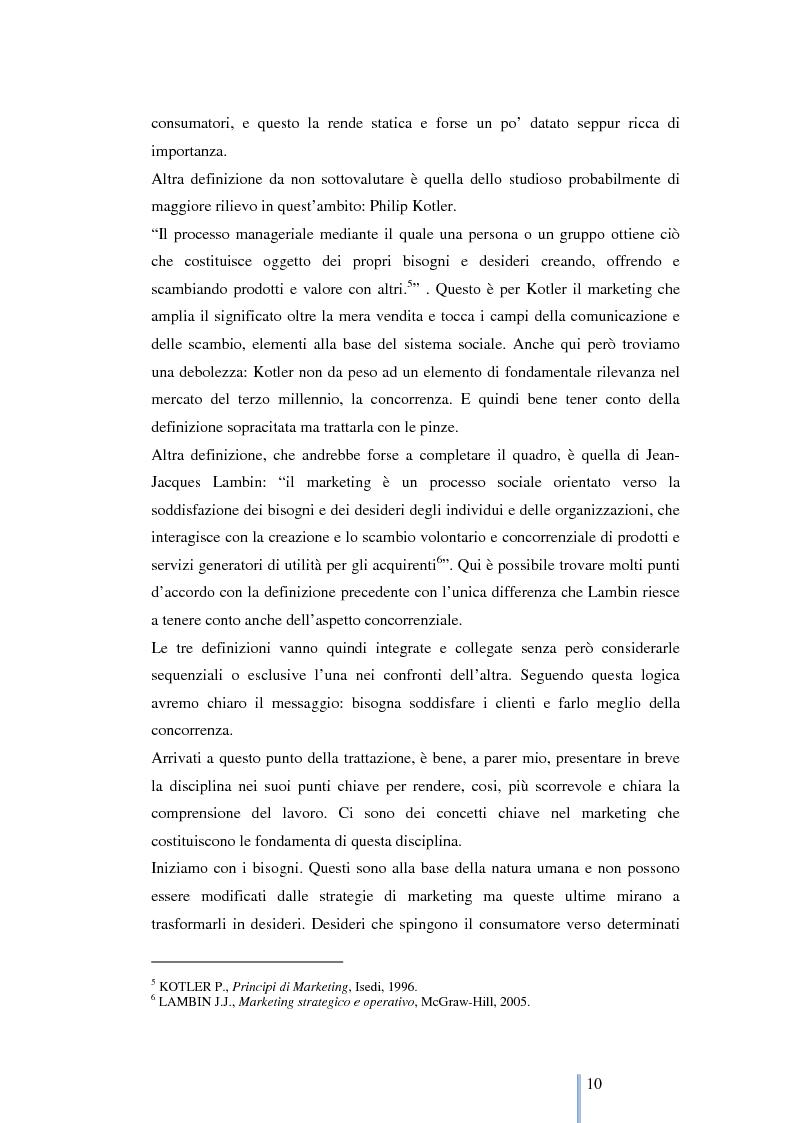 Anteprima della tesi: Le nuove frontiere del marketing: geomarketing e geolocalizzazione al servizio delle aziende. Il caso UniCredit S.p.a., Pagina 11