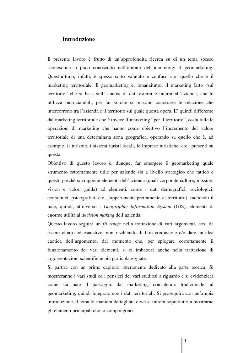 Anteprima della tesi: Le nuove frontiere del marketing: geomarketing e geolocalizzazione al servizio delle aziende. Il caso UniCredit S.p.a., Pagina 2