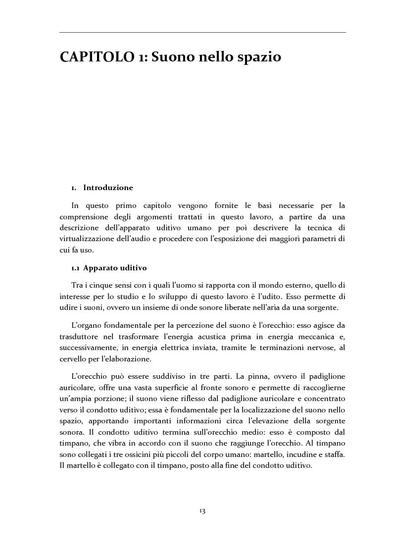 Anteprima della tesi: Gestione di database eterogenei di HRTF per il rendering in tempo reale di audio 3D, Pagina 2