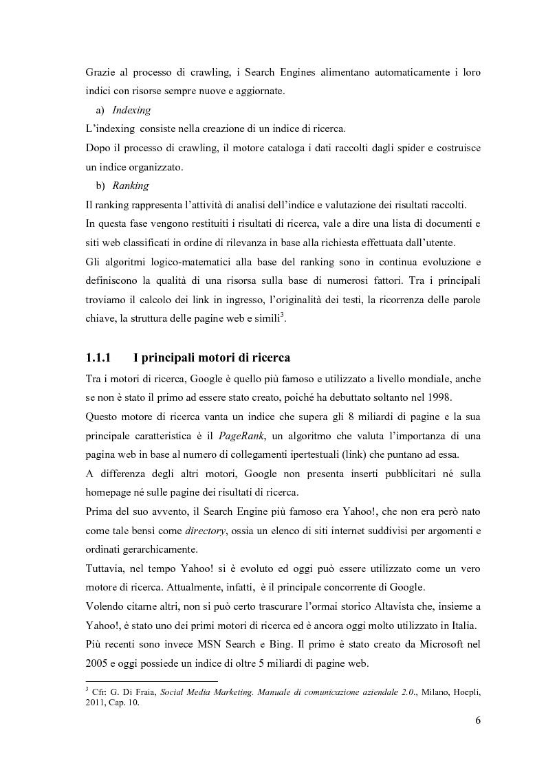 Anteprima della tesi: Google Adwords, un metodo efficace di fare pubblicità, Pagina 4