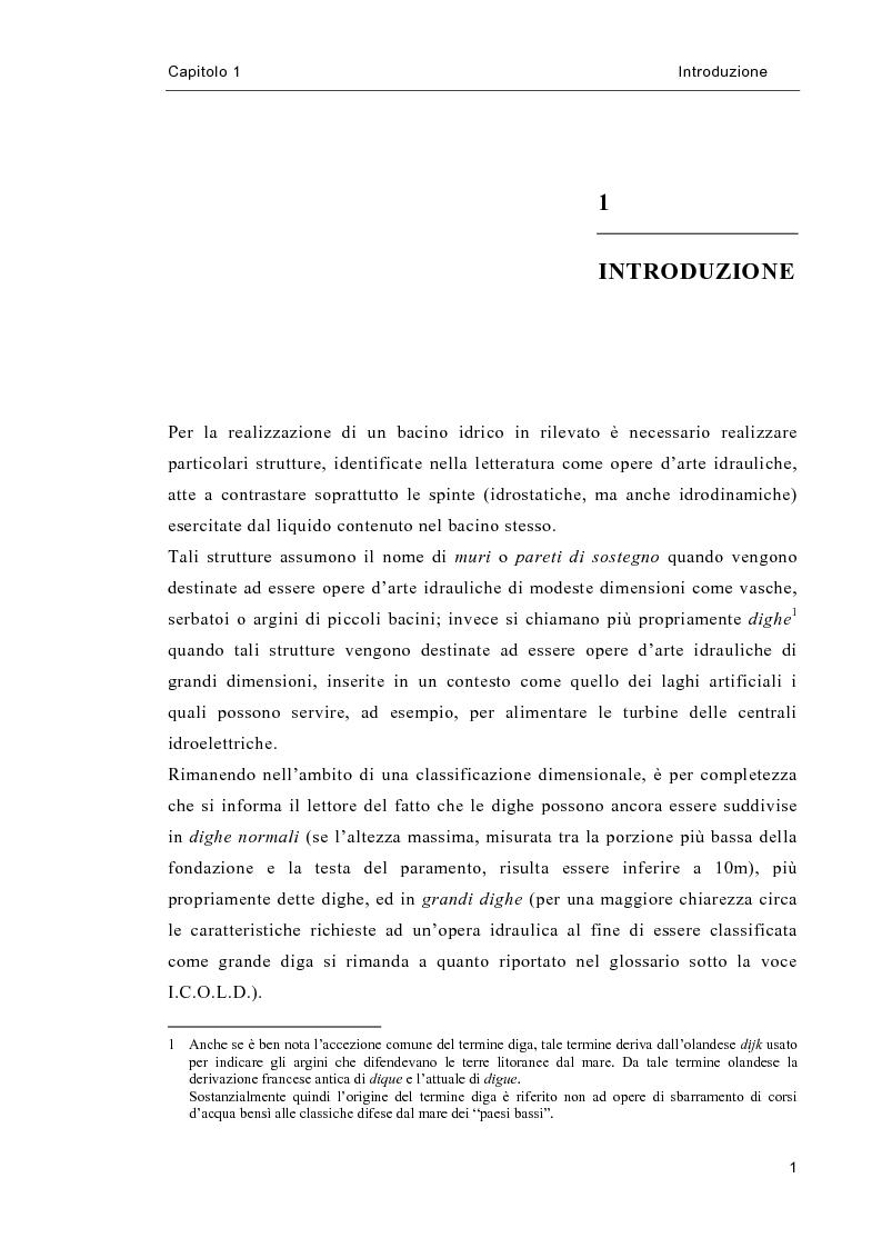 Anteprima della tesi: Analisi allo stato limite di dighe a gravità, Pagina 2