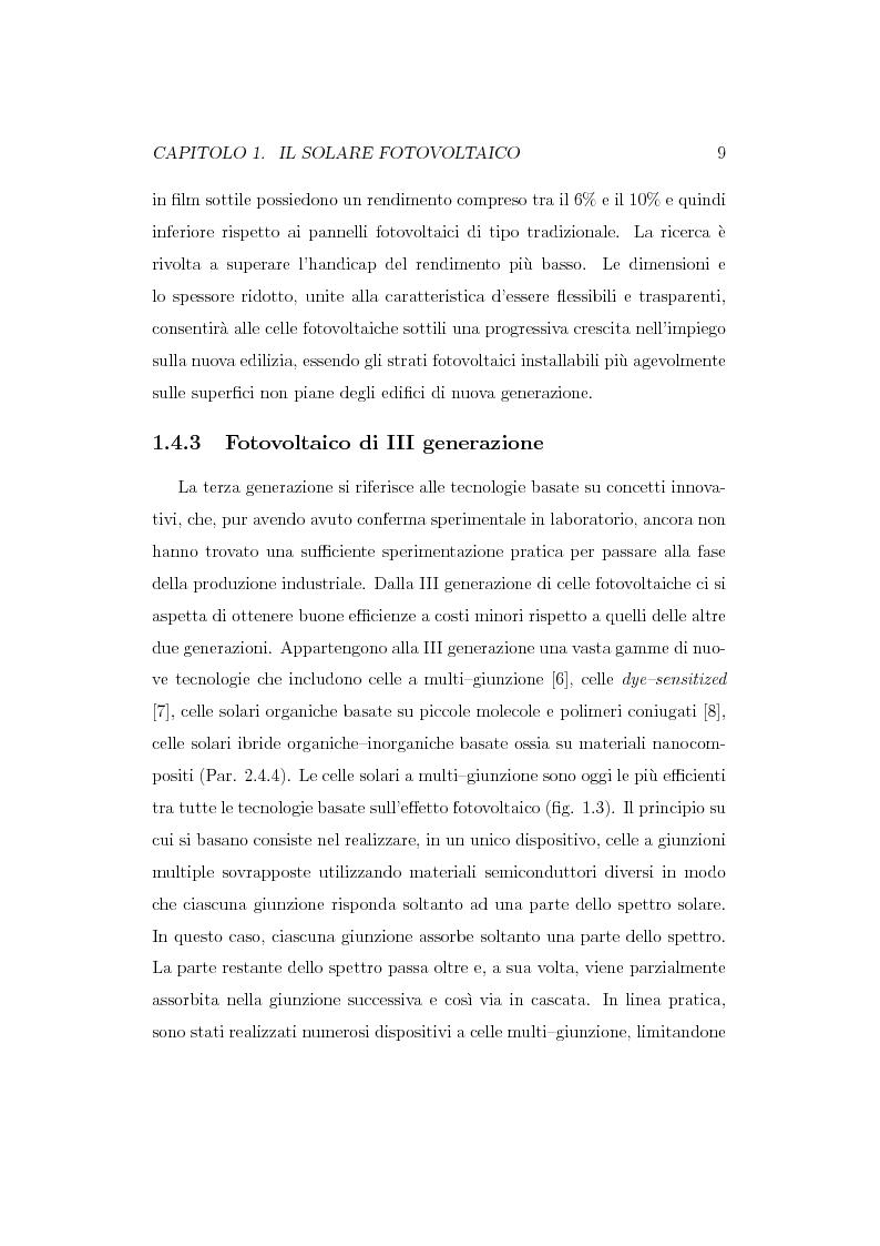 Anteprima della tesi: Caratterizzazione spettroscopica di materiali ibridi organici-inorganici per la conversione dell'energia solare, Pagina 10