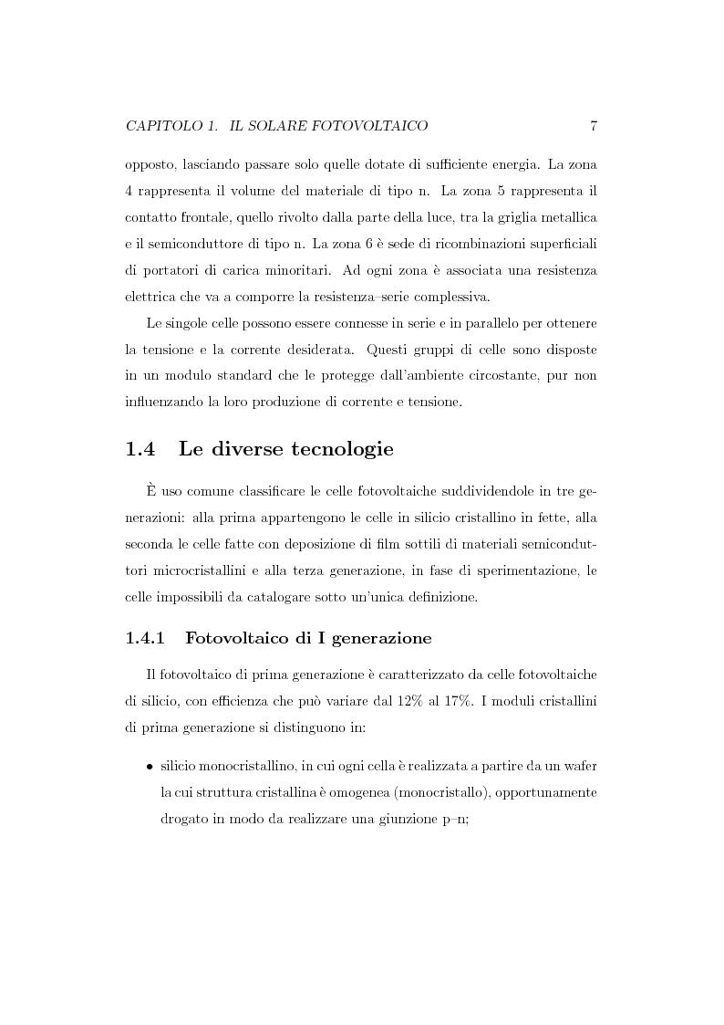 Anteprima della tesi: Caratterizzazione spettroscopica di materiali ibridi organici-inorganici per la conversione dell'energia solare, Pagina 8