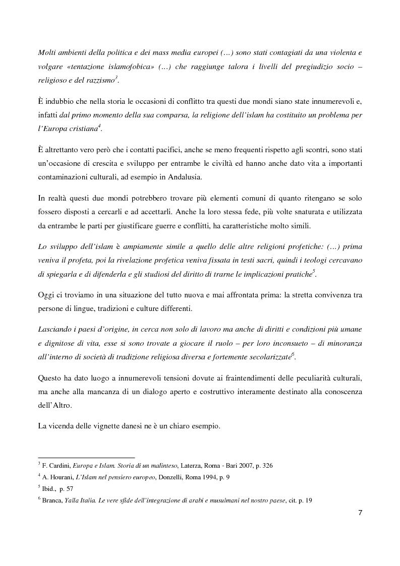 Anteprima della tesi: ''Il sorriso della Mezzaluna'': l'Islam tra stereotipi ed ironia , Pagina 3