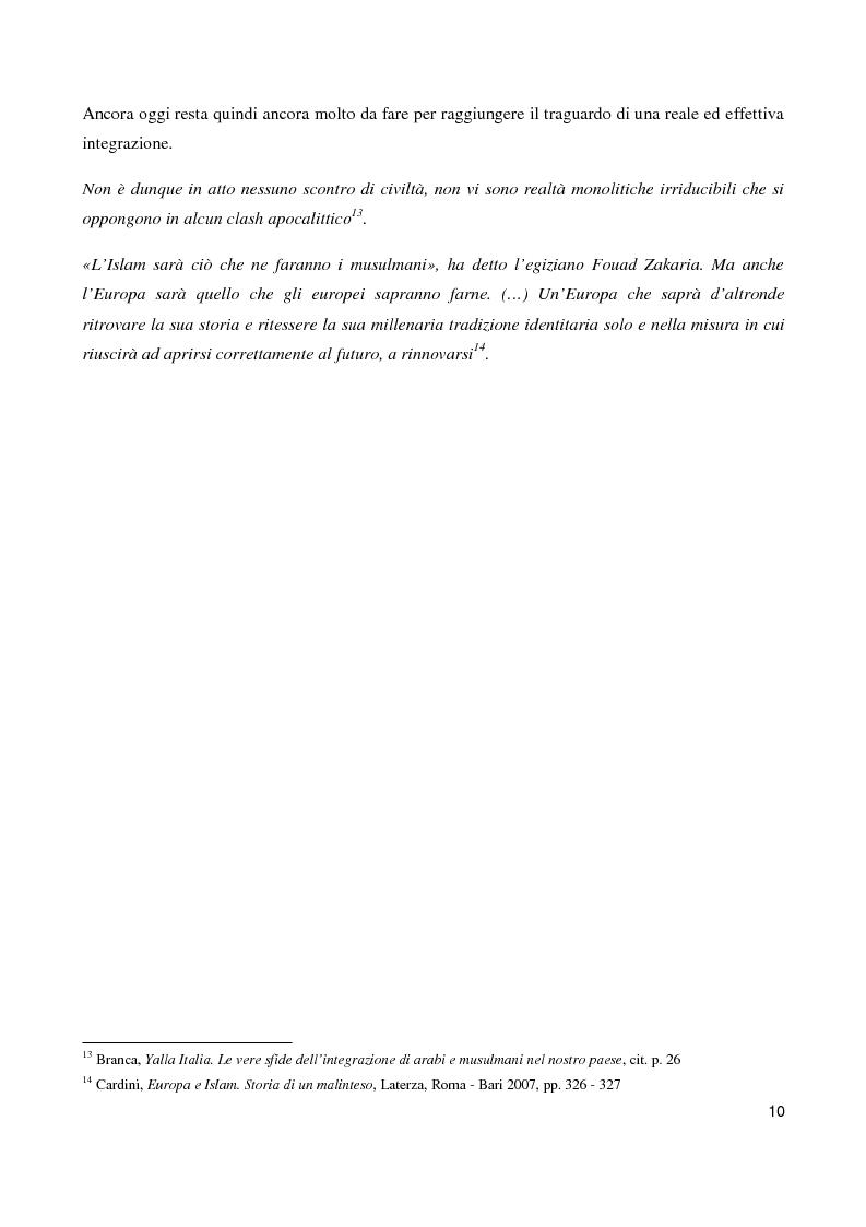 Anteprima della tesi: ''Il sorriso della Mezzaluna'': l'Islam tra stereotipi ed ironia , Pagina 6