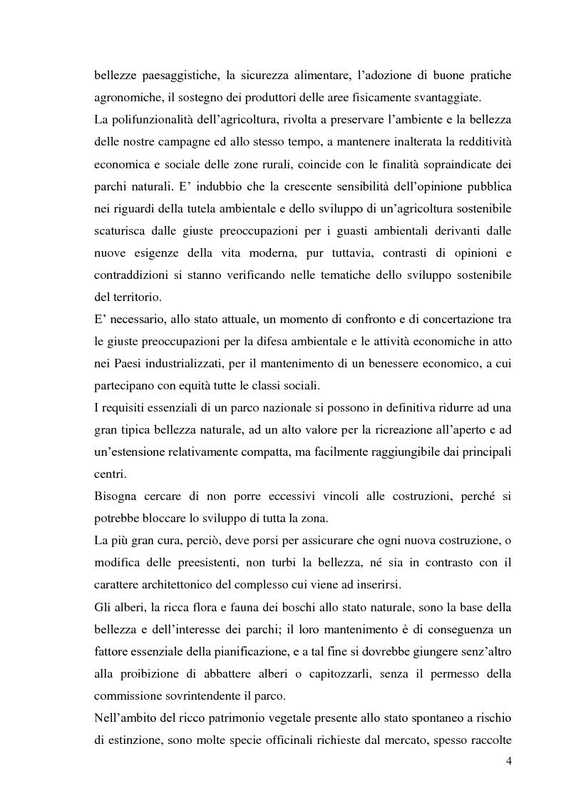Anteprima della tesi: Indagine conoscitiva sulla flora spontanea a destinazione erboristica nel Parco Nazionale dell'Alta Murgia, Pagina 5