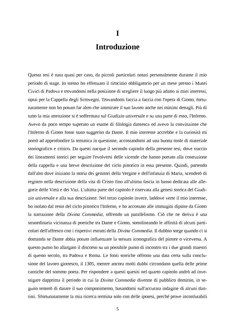 Anteprima della tesi: Giotto letto da Dante, Pagina 2