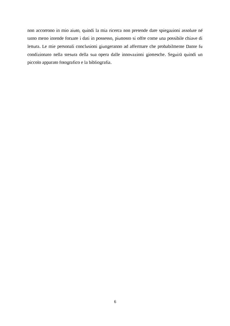 Anteprima della tesi: Giotto letto da Dante, Pagina 3