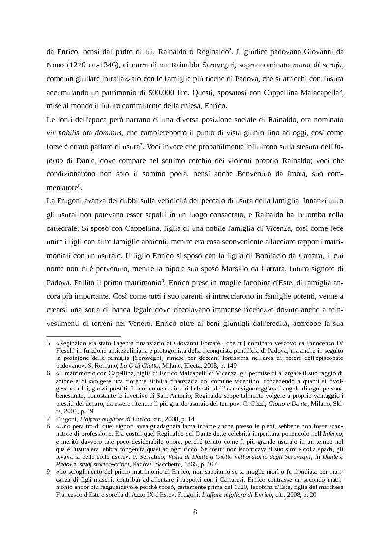 Anteprima della tesi: Giotto letto da Dante, Pagina 5