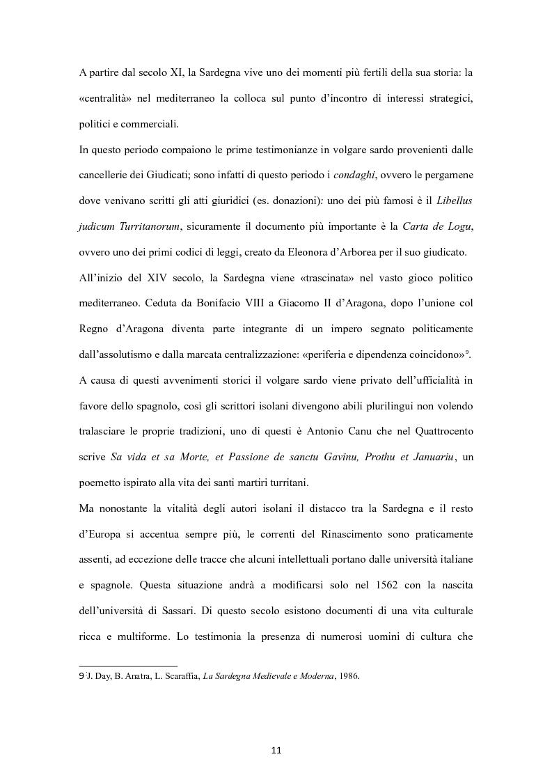 Anteprima della tesi: Sa Limba sarda e i mass Media, Pagina 8