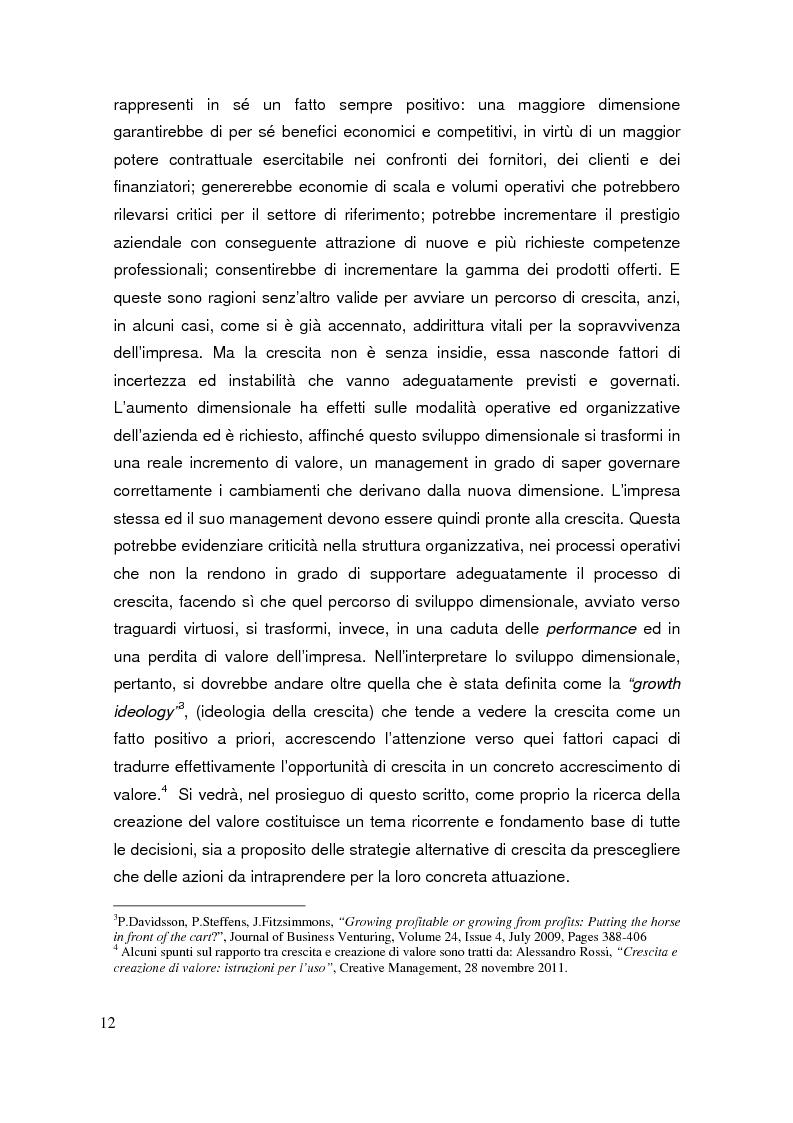 Anteprima della tesi: Le operazioni di M&A come strumento dicrescita e creazione del valore per l'impresa. Il caso Prysmian - Draka, Pagina 8