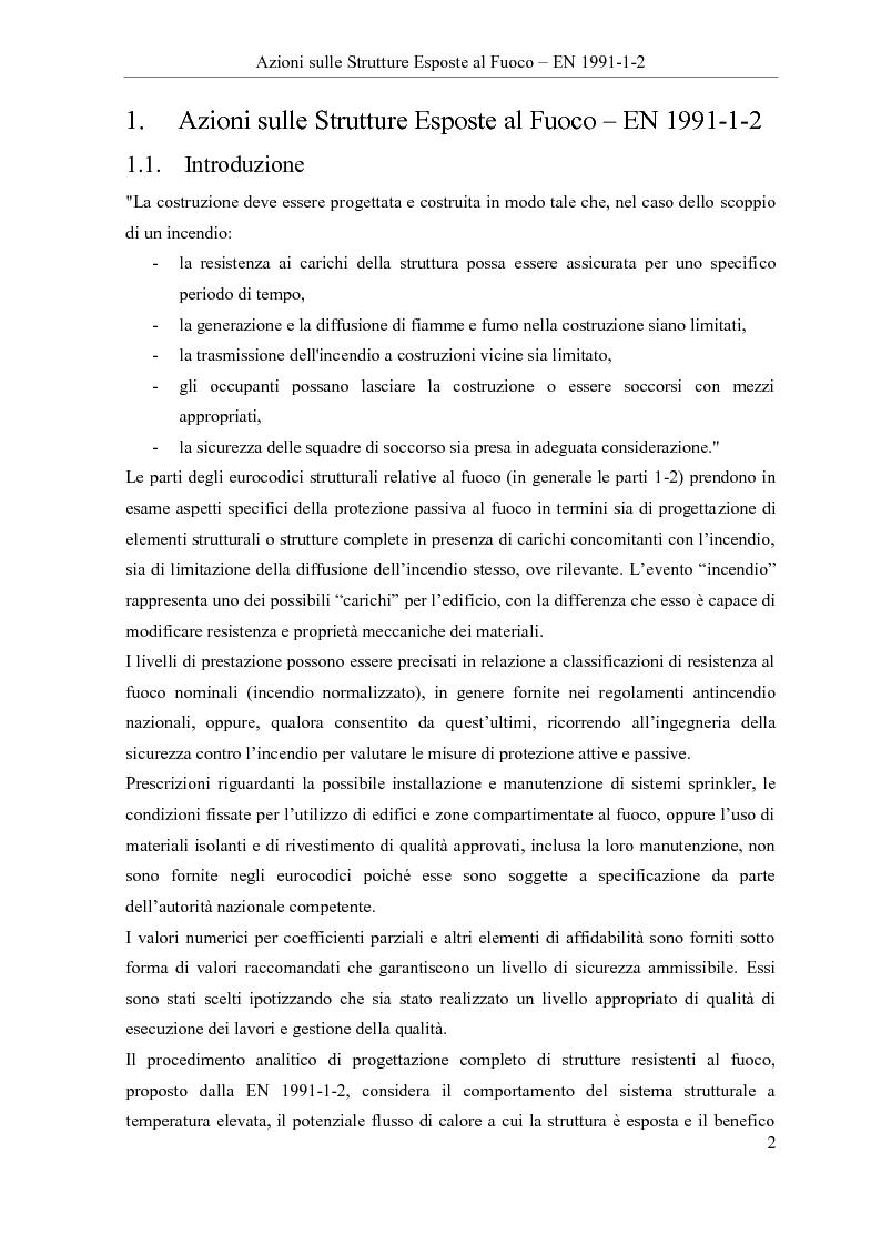 Anteprima della tesi: Verifica all'incendio di edifici ospedalieri: il Polo Diagnostico AOUP Cisanello (Pisa), Pagina 2