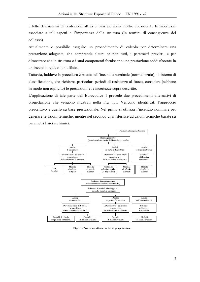 Anteprima della tesi: Verifica all'incendio di edifici ospedalieri: il Polo Diagnostico AOUP Cisanello (Pisa), Pagina 3