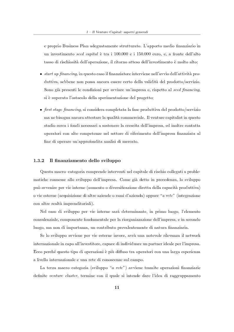 """Anteprima della tesi: Il Venture Capital. Un modello di rating per la valutazione delle """"business ideas""""., Pagina 12"""