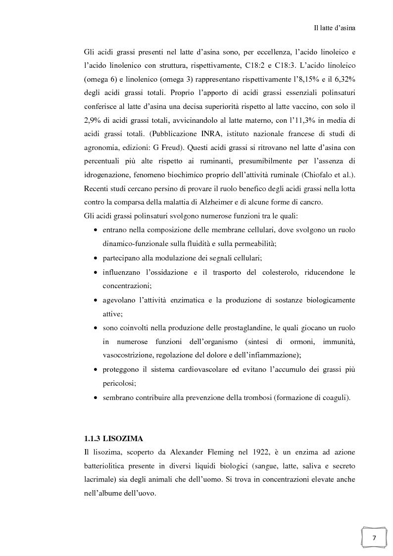 Anteprima della tesi: Influenza della temperatura di essiccazione sulla qualità delle polveri nell'essiccamento spray di latte d'asina, Pagina 8