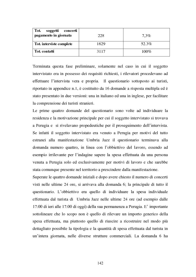 Anteprima della tesi: Eventi culturali e marketing territoriale: l'indagine empirica sul festival musicale di Umbria Jazz, Pagina 11