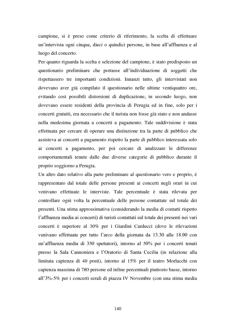 Anteprima della tesi: Eventi culturali e marketing territoriale: l'indagine empirica sul festival musicale di Umbria Jazz, Pagina 9
