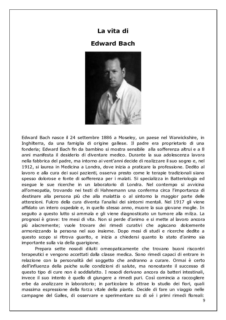 Anteprima della tesi: Floriterapia di Bach Applicata alle 9 Basi dell'enneagramma ed ai difetti di rifrazione visiva, Pagina 3
