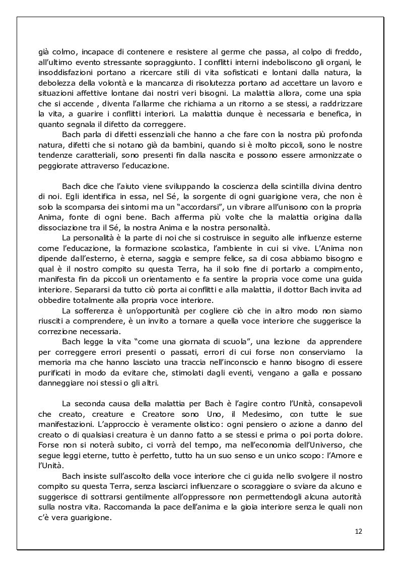 Anteprima della tesi: Floriterapia di Bach Applicata alle 9 Basi dell'enneagramma ed ai difetti di rifrazione visiva, Pagina 6