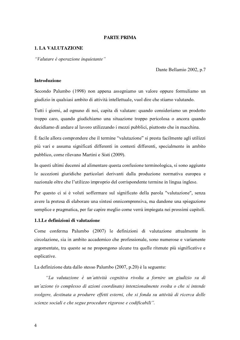 Anteprima della tesi: La valutazione degli effetti delle politiche pubbliche: aspetti teorico metodologici e applicazione al POR FESR 2007-2013 in Lombardia, Pagina 5