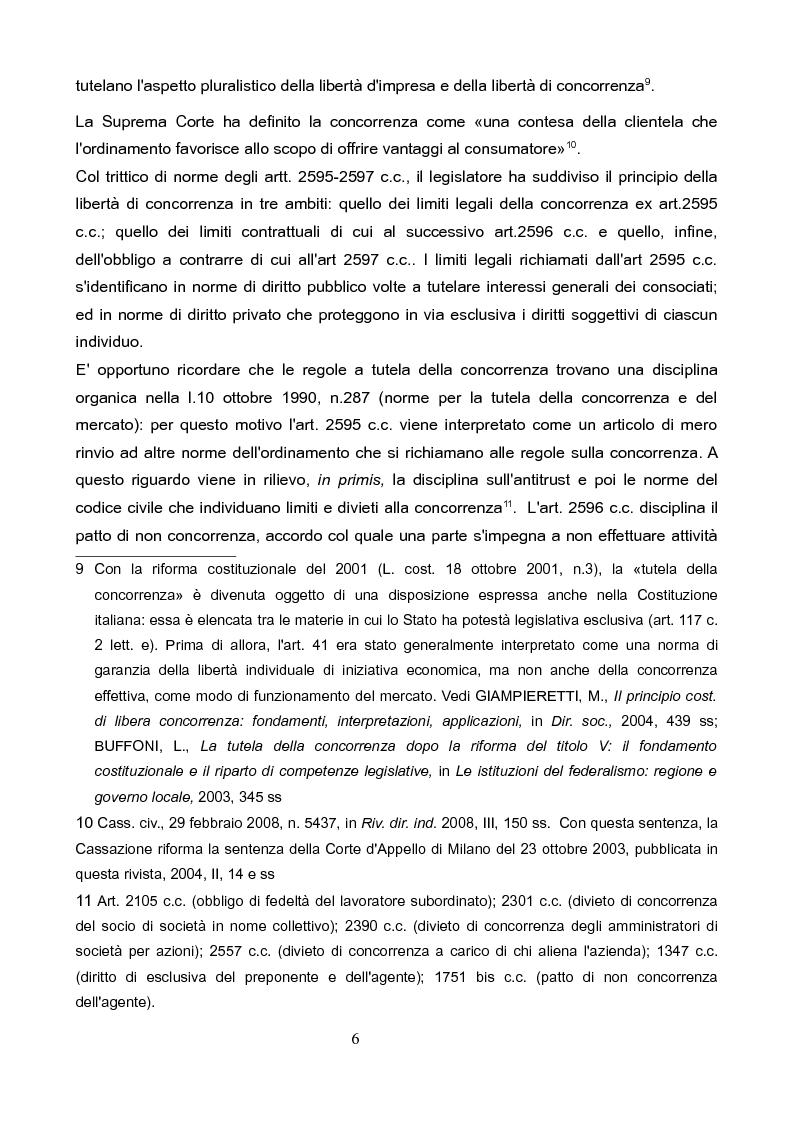 Anteprima della tesi: La concorrenza sleale per interposta persona, Pagina 5