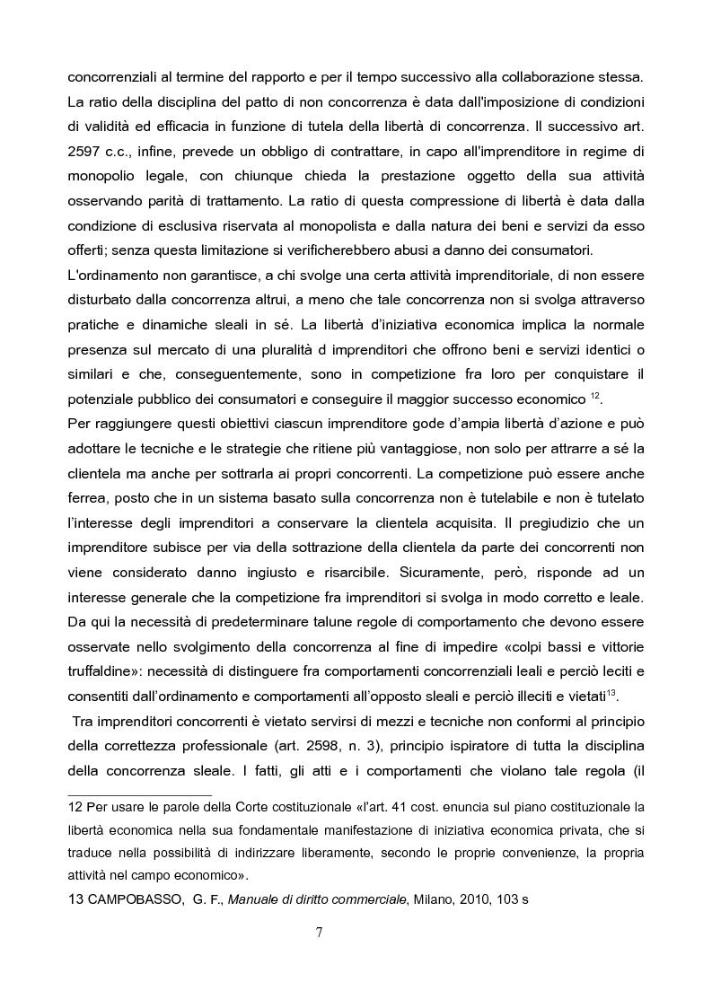 Anteprima della tesi: La concorrenza sleale per interposta persona, Pagina 6