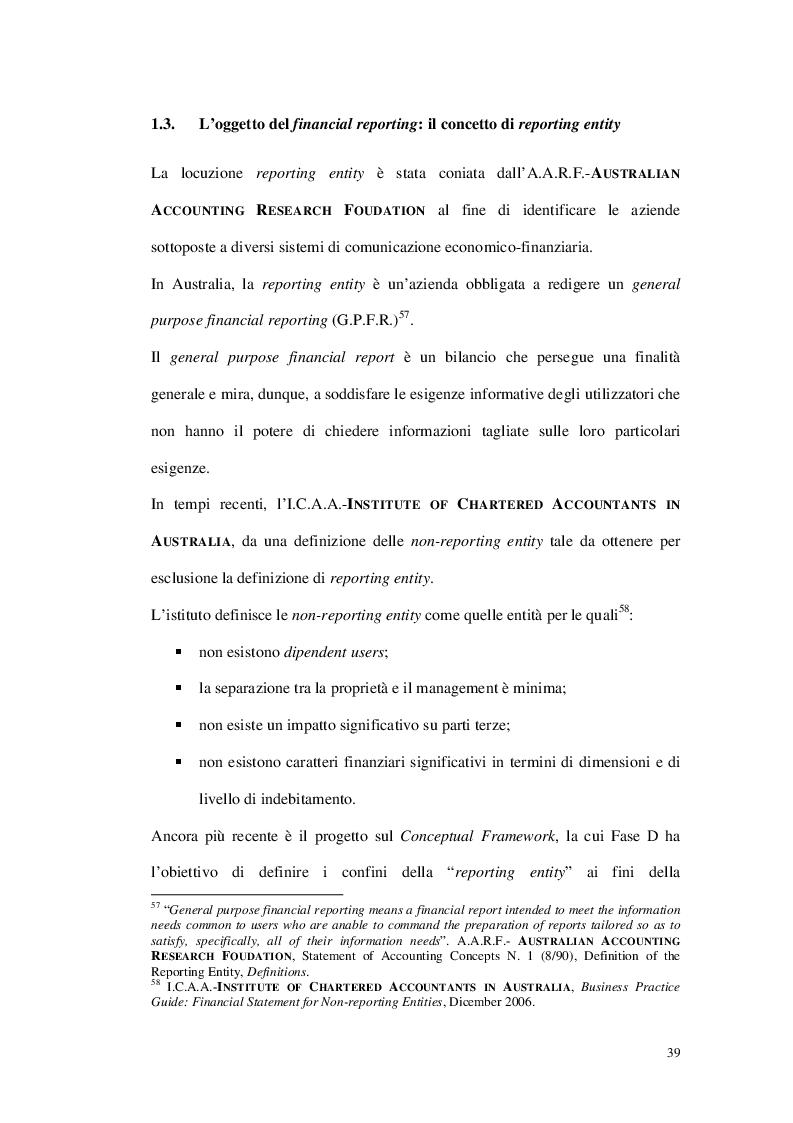 Anteprima della tesi: Il segment reporting nell'impostazione contabile internazionale: evidenze empiriche sulle società italiane del FTSE MIB, Pagina 2