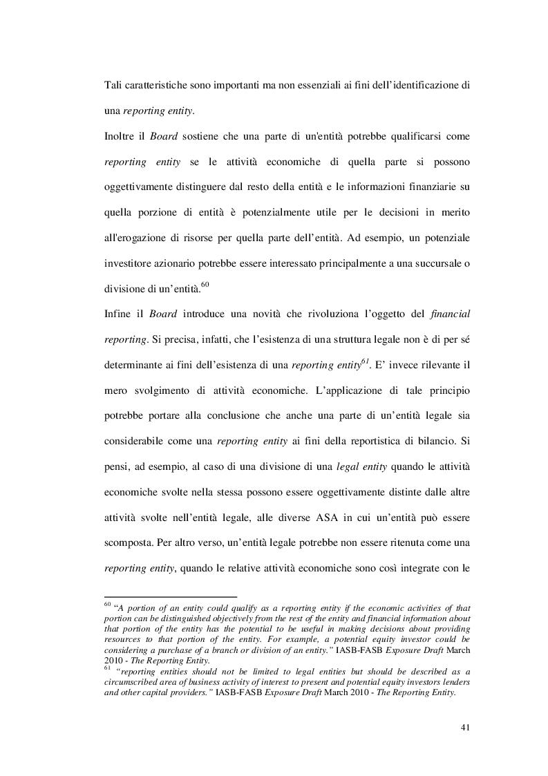 Anteprima della tesi: Il segment reporting nell'impostazione contabile internazionale: evidenze empiriche sulle società italiane del FTSE MIB, Pagina 4
