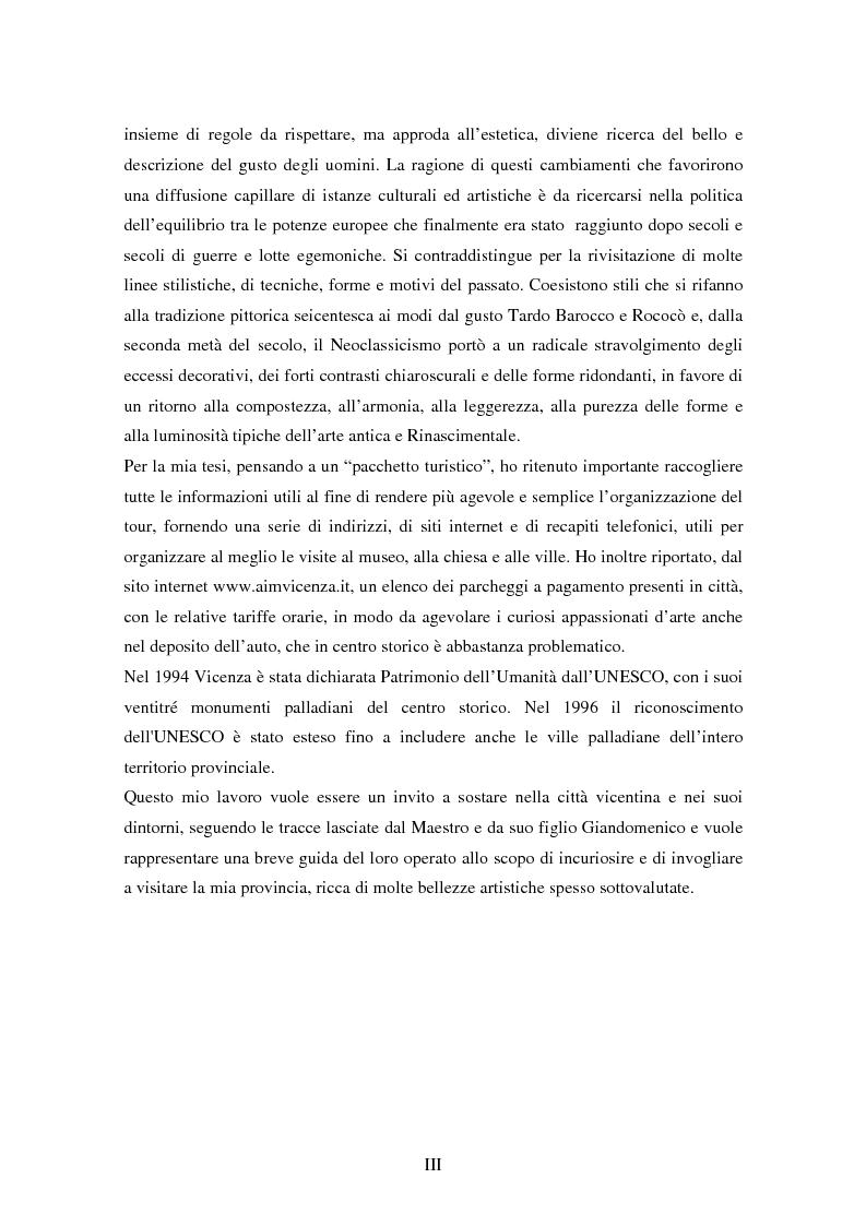 Anteprima della tesi: Opere dei Tiepolo nel vicentino: itinerario guidato, Pagina 4