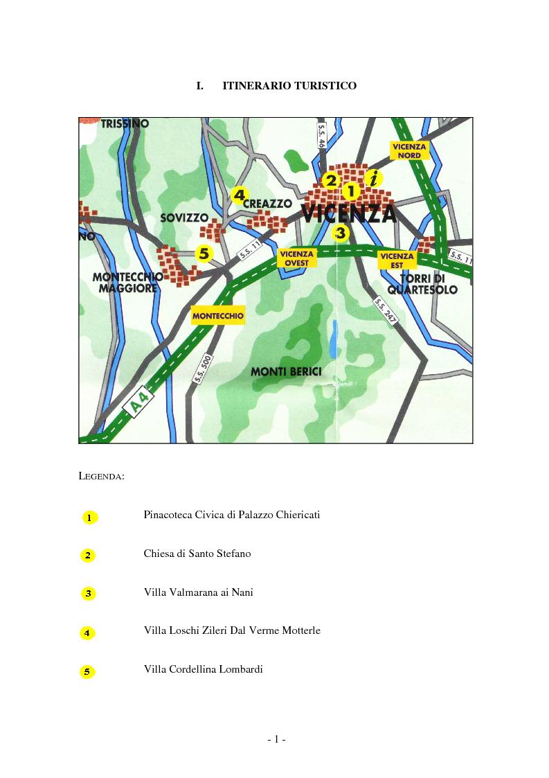Anteprima della tesi: Opere dei Tiepolo nel vicentino: itinerario guidato, Pagina 5