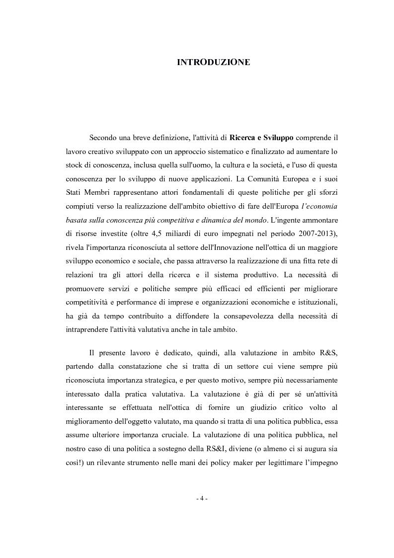 Anteprima della tesi: La valutazione di impatto degli incentivi alla R&S, Pagina 2