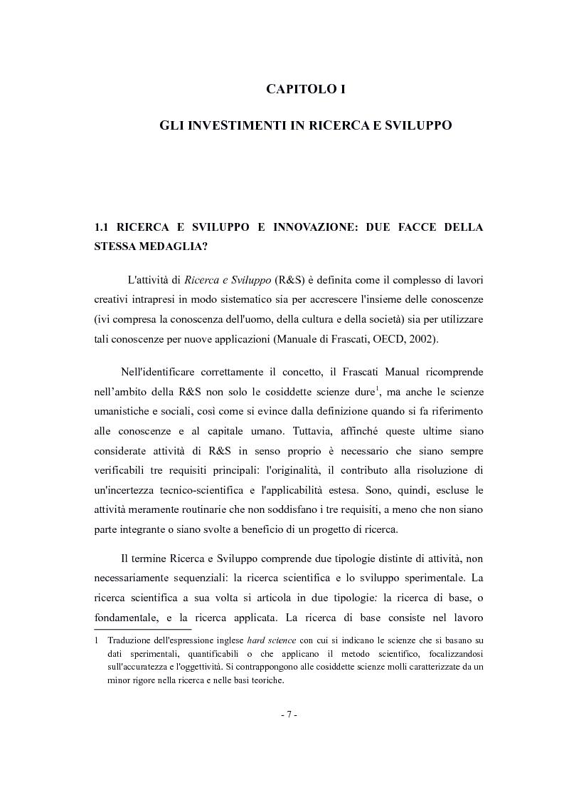 Anteprima della tesi: La valutazione di impatto degli incentivi alla R&S, Pagina 5